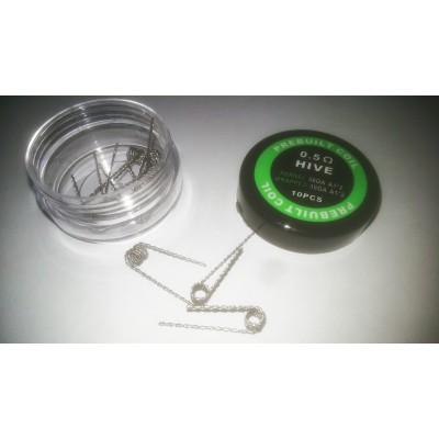 Hive Coil (30GA+30GA)*2 (преднамотаная спираль)