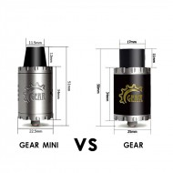 Cigreen Gear Mini 22 RDA